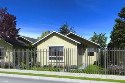 Planta Tipo 54 - Casas Puerta Sur