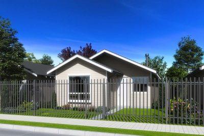 Planta Tipo 63 - Casas Puerta Sur