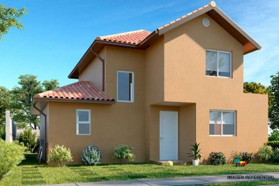 Planta Casa Rahue - Condominio Casas del Rahue