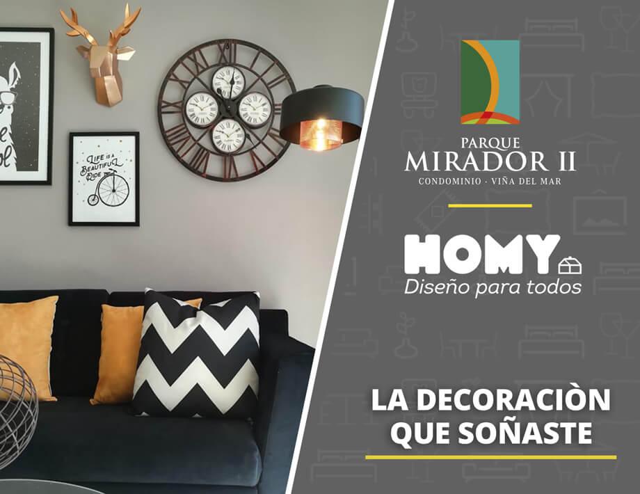 Parque Mirador II te regala la decoración