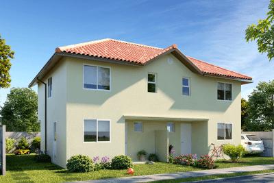 Planta Casa Calbuco - Condominio Casas del Rahue