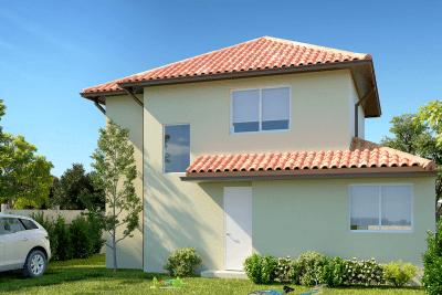 Planta Casa Llaima - Condominio Casas del Rahue