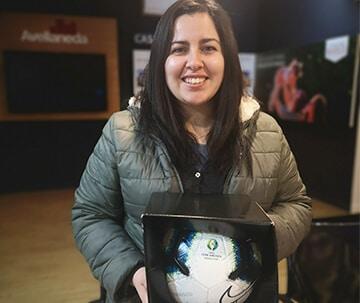 Ganador Christina Carrasco